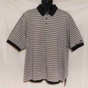 NIKE Golf 3 Button Heavyweight Polo Shirt XXL